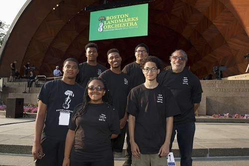 2016 MLK Scholars Stage Crew